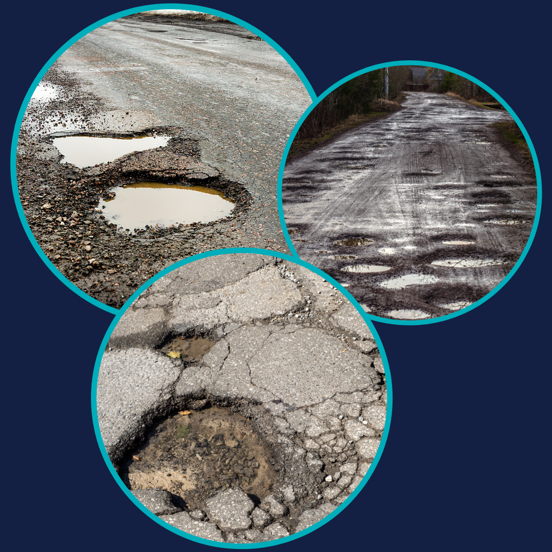Pesky Potholes…How to claim for your damage!