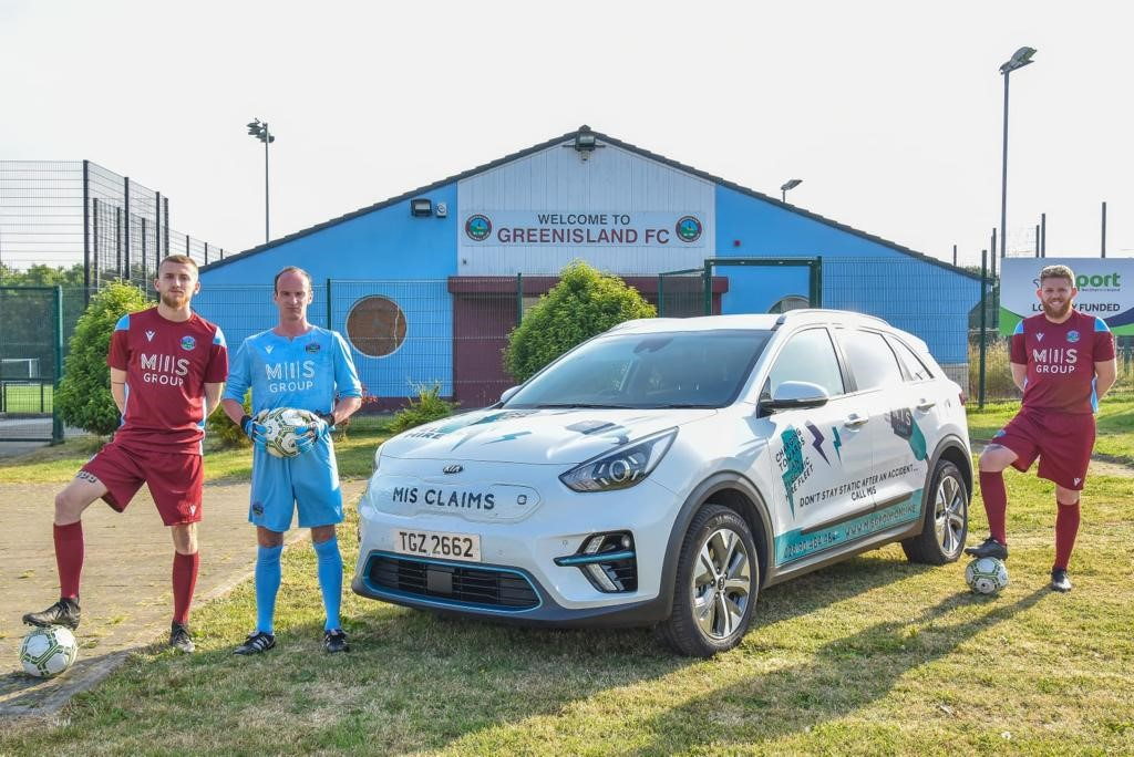 Greenisland FC continue to grow, MIS continue to sponsor.